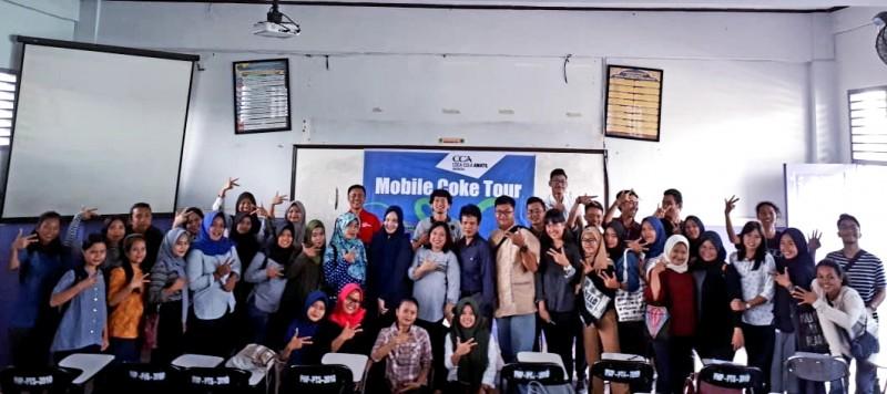 Terinspirasi Lampung, CCAI Helat  Mobile Coke Tour di Medan