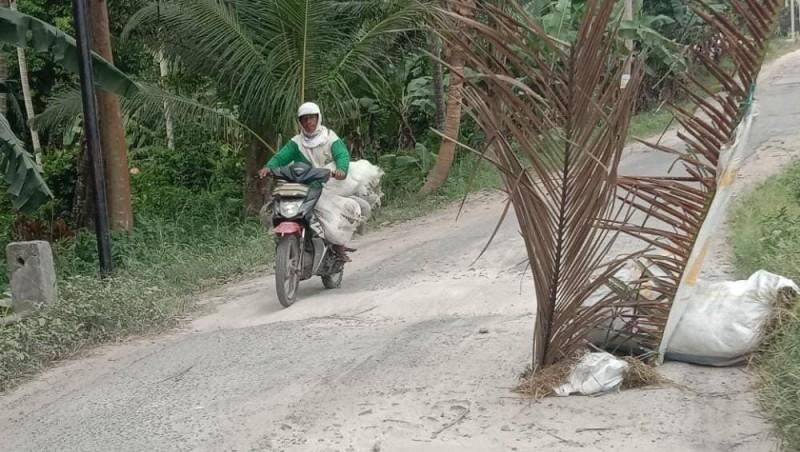 Termakan Usia, Gorong-gorong di Margacatur Ambrol