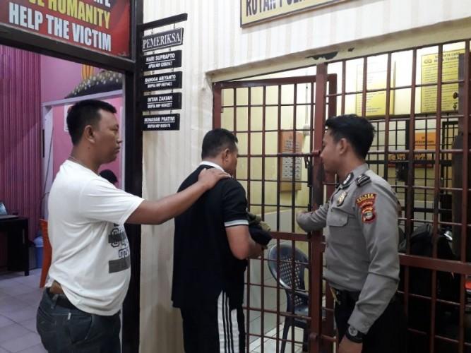Tersangka Pencabulan Anak Tiri Ditangkap di Jawa Tengah