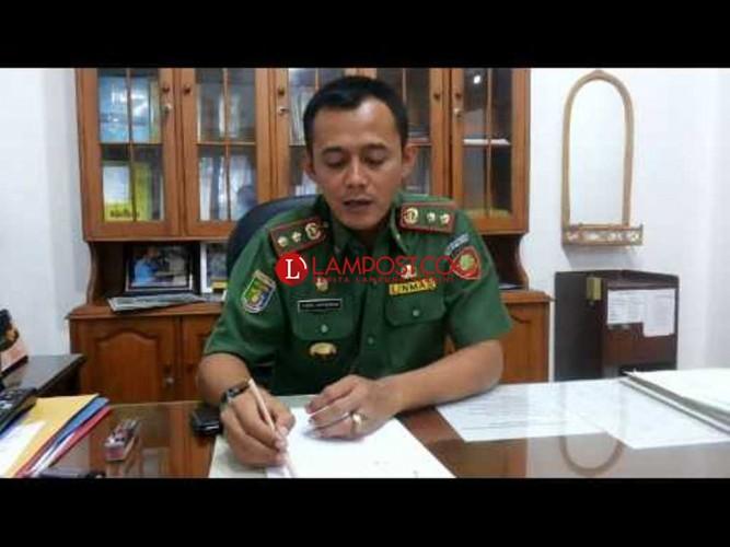 Tes Makalah Sekprov Lampung, Yuda Habis Tujuh Lembar
