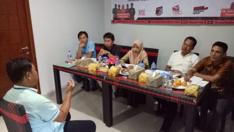 Tes Wawancara PPK KPU Pesisir Barat Masih Berlanjut