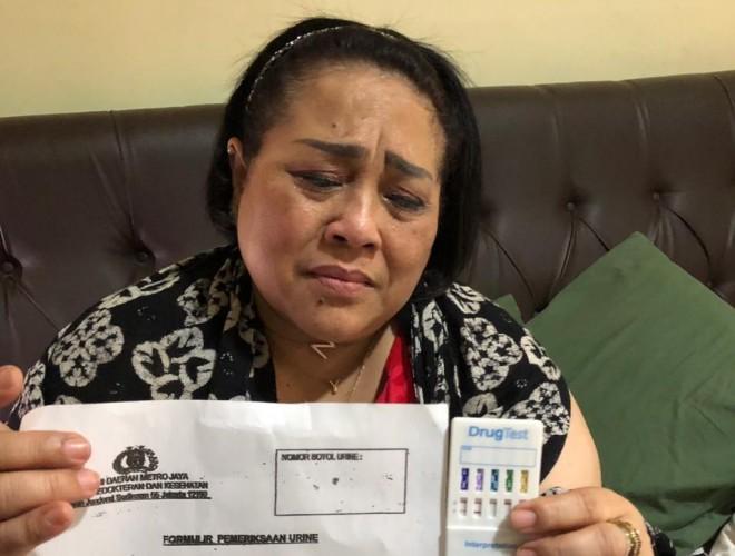 Tessy Kaget Nunung Pakai Narkoba