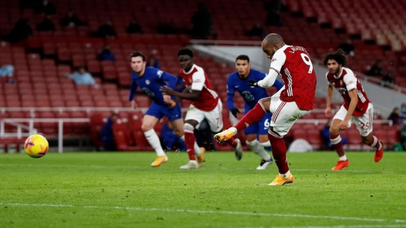 The Gunners Bantai The Blues 3-1