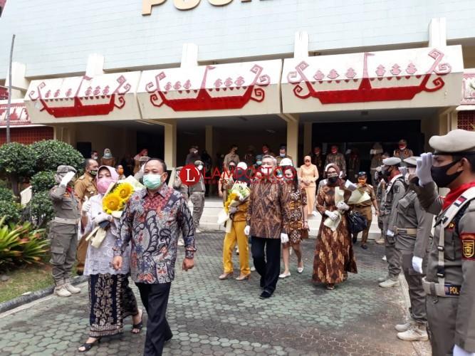 Theresia, Fitter dan Pad Dilangga Masuki Purnatugas