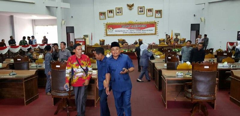 Tidak Kuorum, Rapat Paripurna Penyampaian LKPj Bupati Tulangbawang Barat 2018 Ditunda