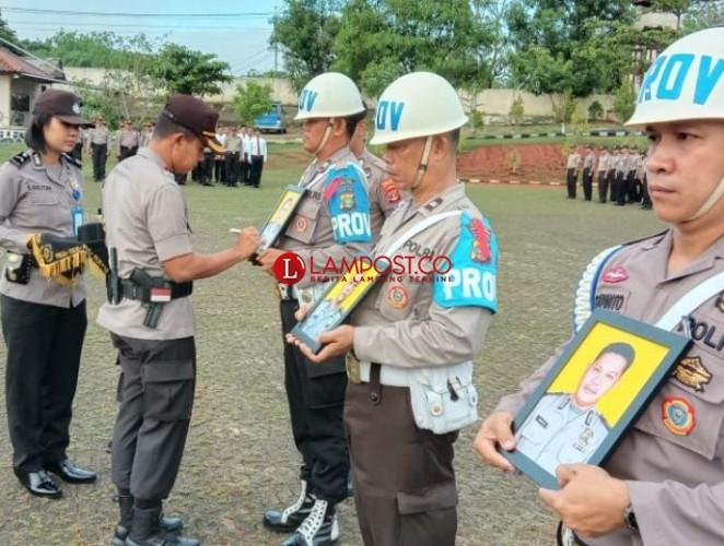 Tiga Anggota Polres Lampung Utara Dipecat Karena Terlibat Narkoba