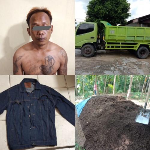Tiga Bulan Buron, Begal Truk Pupuk Kompos Ditangkap