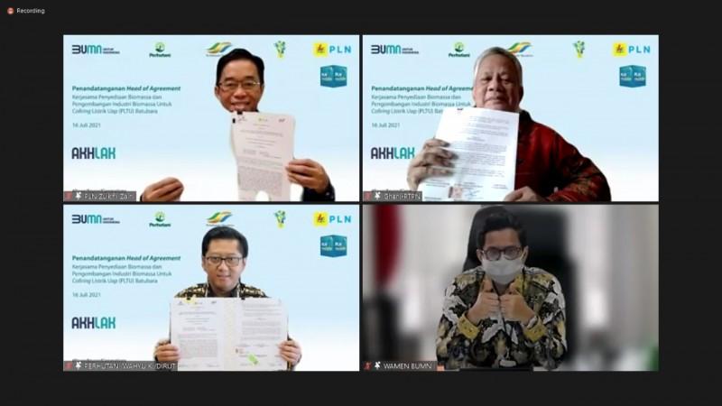 Tiga BUMN Bersinergi Wujudkan Indonesia Lebih Ramah Lingkungan