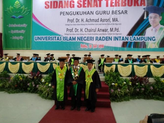 Tiga Dosen UIN Lampung Segera Jadi Guru Besar