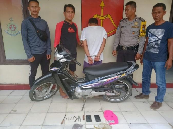 Tiga Kali Mencuri, Warga Baradatu Diringkus Polisi