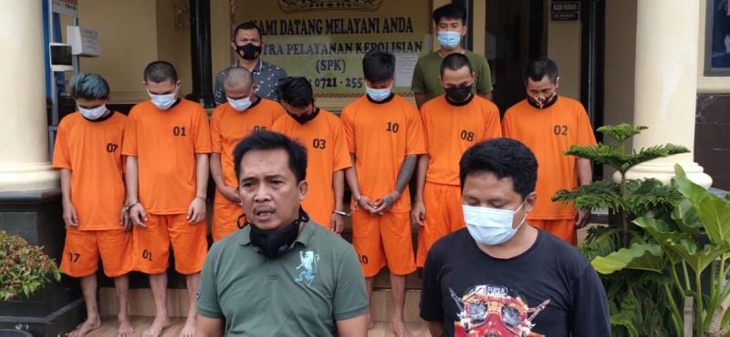 Tiga Komplotan Curanmor Beraksi 10 Lokasi di Bandar Lampung