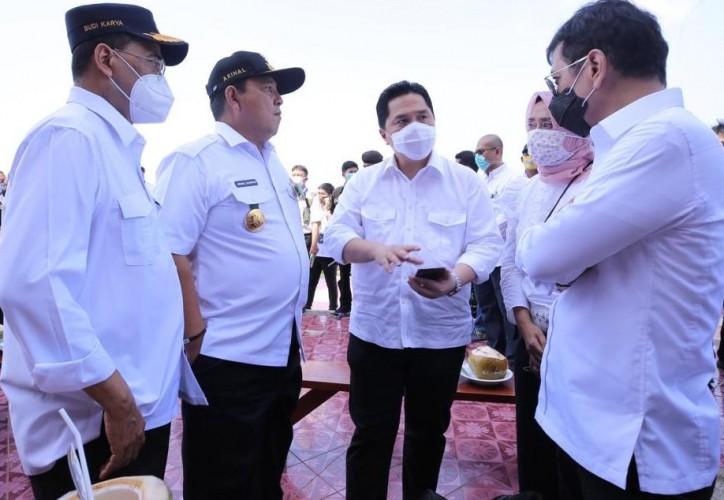 Tiga Menteri Kebut Percepatan Kawasan Wisata Terpadu Bakauheni