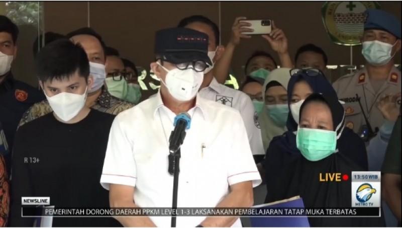 Tiga Napi Lapas Tangerang Masih Kritis Akibat Luka Bakar 98%