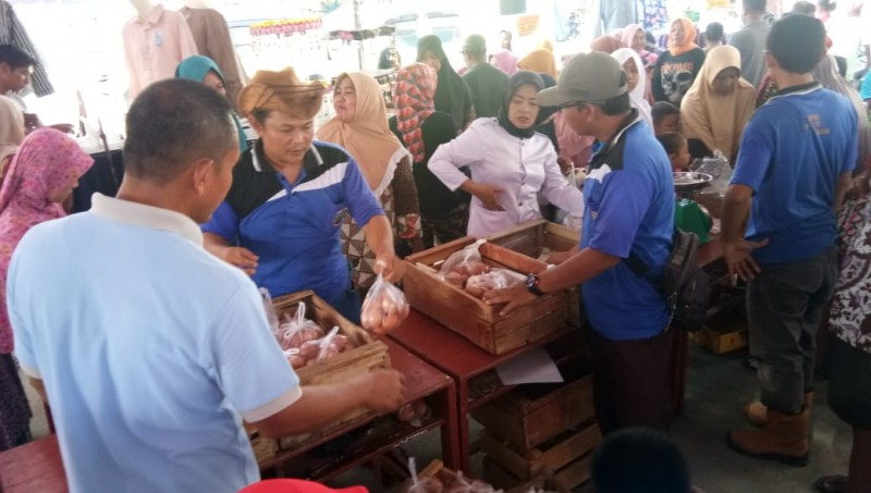 Tiga Pekan Ramadan, Harga Komoditas Pangan di Lamsel Stabil