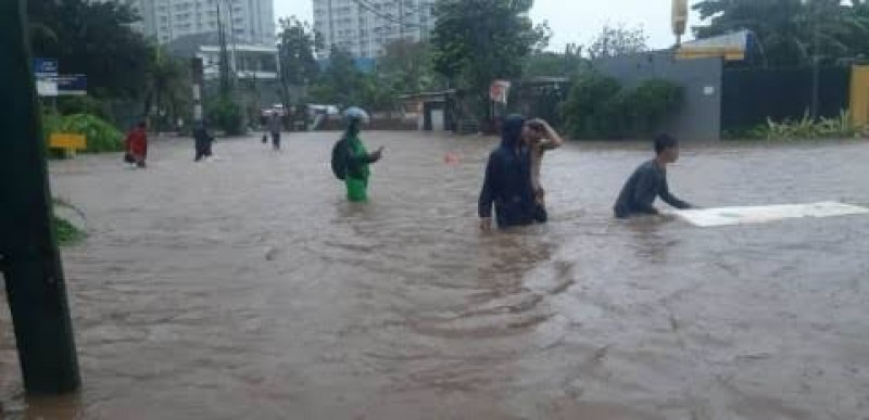 Tiga Pelayanan Pemkot Bekasi Terganggu Akibat Banjir