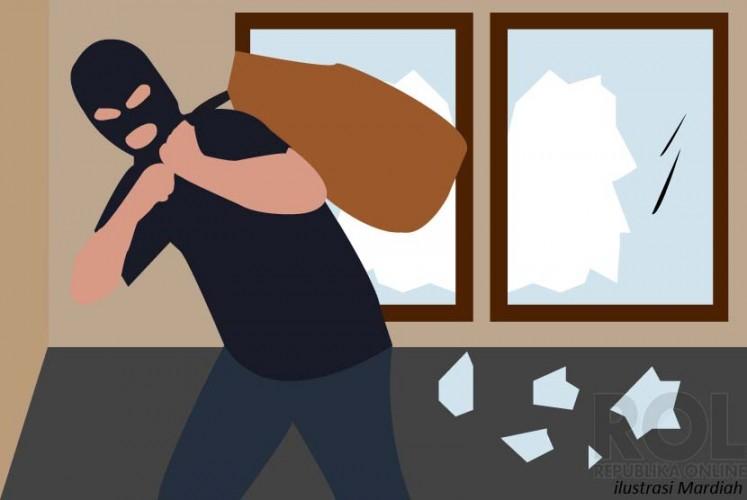 Tiga Pencuri di SD Sungkai Selatan Lampura Diburu
