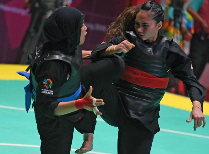 Tiga Pesilat Indonesia Melenggang ke Semifinal