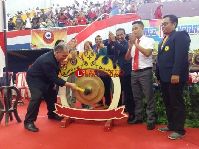 Tiga Provinsi Ramaikan Lampung Karate Festival 2018