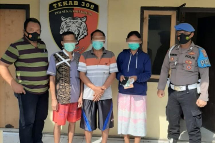 Tiga Warga Gadingrejo Ditangkap Bejudi