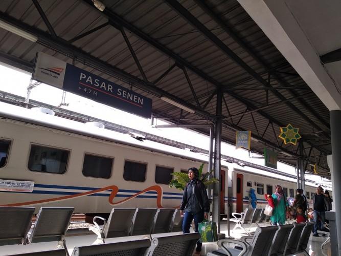 Tiket Kereta Mudik Diskon 20% di Jakarta Fair