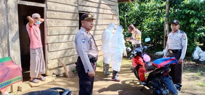 Tim Gabungan Pantau ODP Covid-19 di Balikbukit