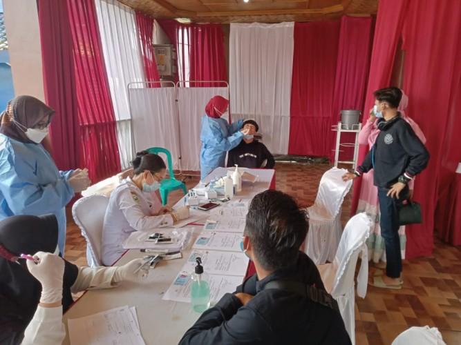 Tim Gabungan Siapkan 100 Alat Rapid Test di Rest Area Wates