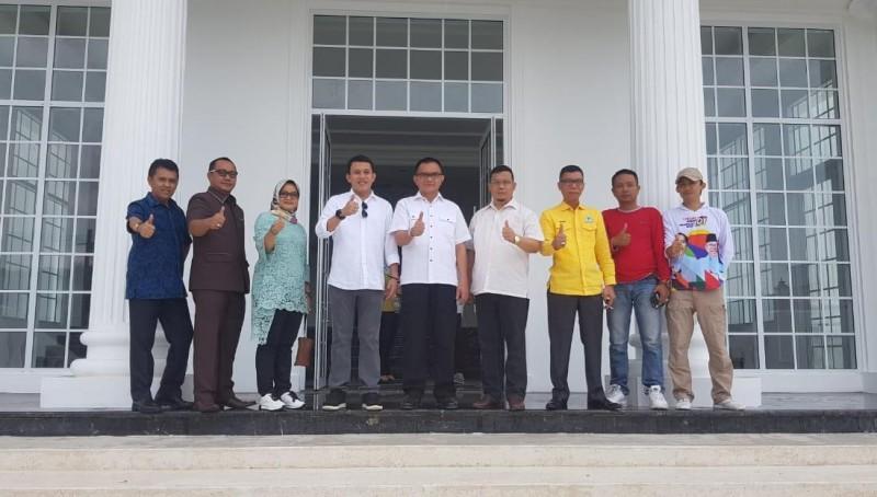 Tim Kampanye Nasional Cek Persiapan Penyambutan Jokowi - Amin