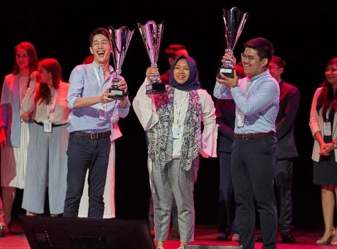 Tim Phoenix ITB Raih Intrapreneurship Award L'Oreal Brandstorm International 2019