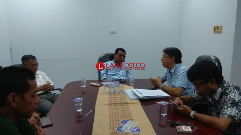 Tim Relawan DKI Lampung ke Lampung Post Bahas Usulan