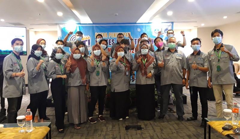 Tim Robotik Unila Sabet Juara di 4 Divisi KRTI
