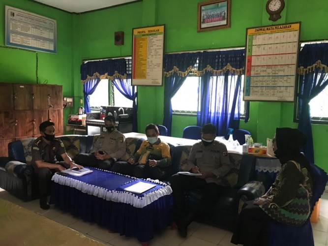 Tim Saber Pungli Monitoring Anggaran Sekolah di Lamtim