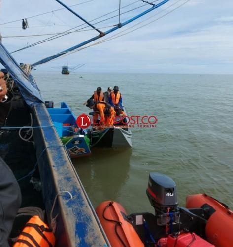 Tim SAR Cari Satu ABK Hilang di Perairan Tulangbawang