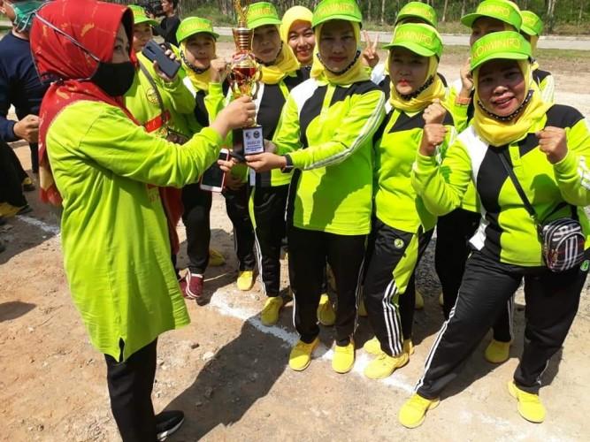 Tim Senam Lampung Berjaya Diskominfo Tubaba Raih Juara Tiga