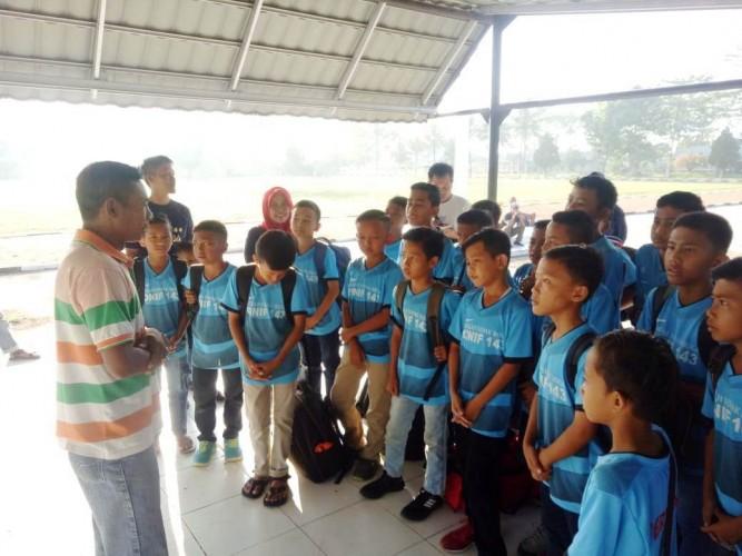 Tim SSB Binaan Yonif 143/TWEJ Ikuti Turnamen Nasional