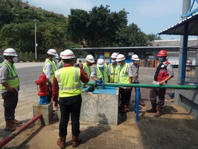 Tim Terpadu Pemkab Lamsel Monitoring Ke PT Wika Beton