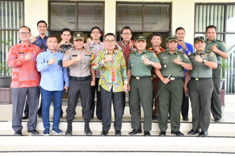 Tim TopografiKodam II Sriwijaya Kunjungi Lamtim