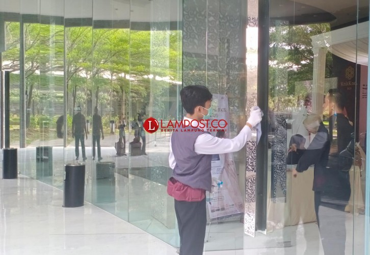 Tingkat Hunian Hotel di Lampung Capai 43,98 Persen
