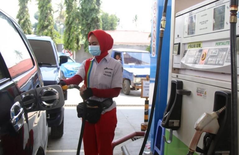 Tingkat Konsumsi BBM di Lampung Turun 19% Selama PPKM