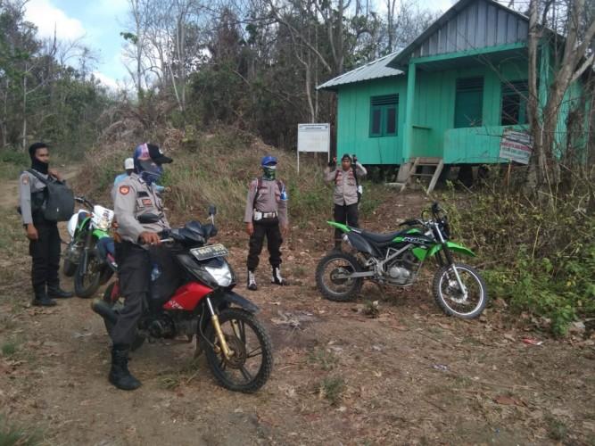 Tingkatkan Keamanan, Polsek-Polhut Patroli Kawasan TNBBS