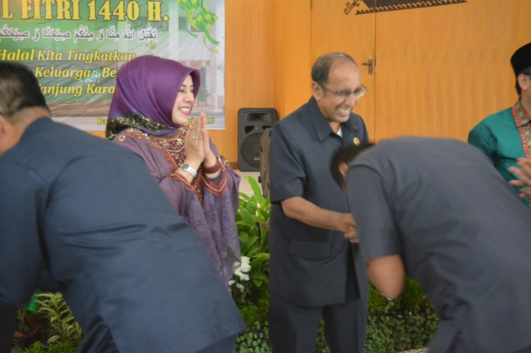 Tingkatkan Silaturahmi, Pengadilan Tinggi Tanjungkarang Gelar Halalbihalal