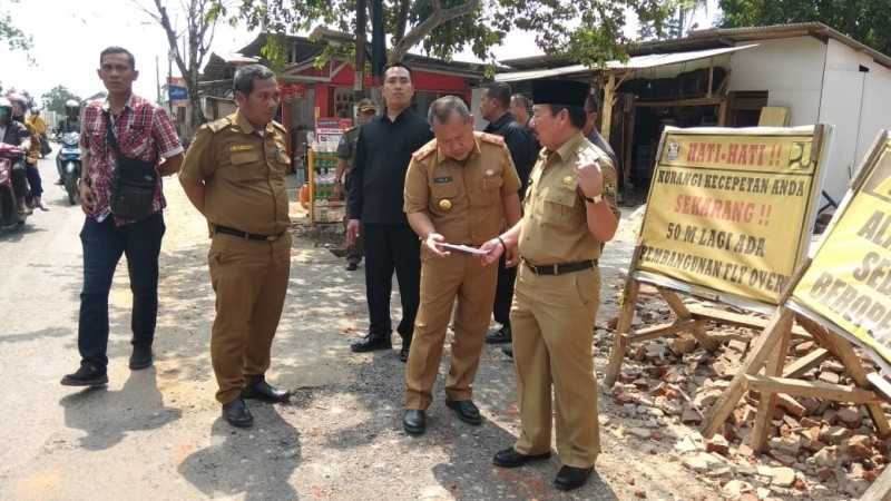 Tinjau TMMD Imbangan, Herman HN Harap Aparat Kecamatan Gotong-royong