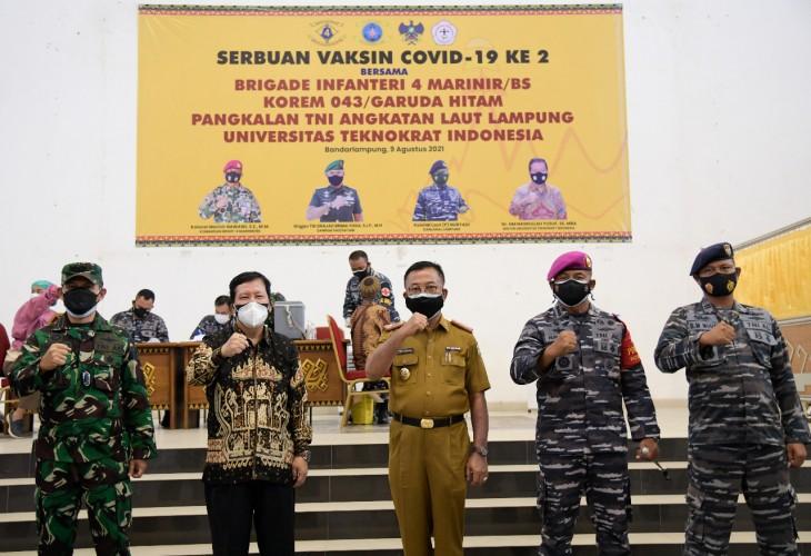 TNI Gandeng Teknokrat Sempurnakan Vaksinasi Warga