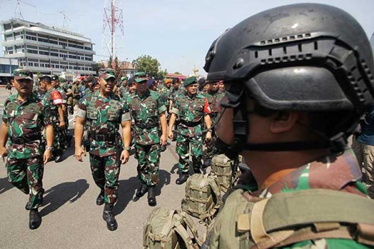 TNI Pastikan tidak Ada Penambahan Pasukan di Natuna