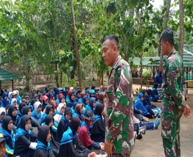 TNI - Polri Beri Wejangan Peserta Rohis Super Camp 2019