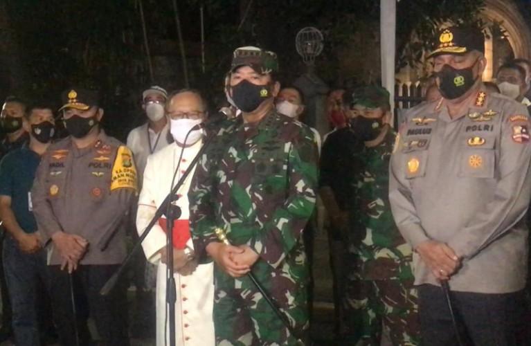 TNI-Polri Deteksi Dini Kerawanan di Tempat Ramai