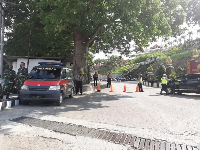 TNI-Polri Jaga Ketat Agenda Pengundian Nomor Urut Paslon