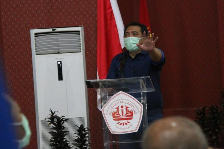 Tobas - Fakuktas Hukum Universitas Lampung Bedah UU Cipta Kerja