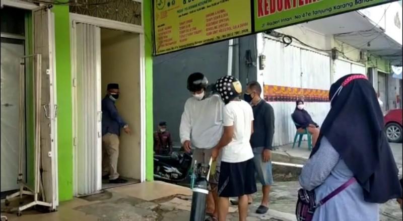 Toko Alkes di Bandar Lampung Sediakan Isi Ulang Oksigen Gratis