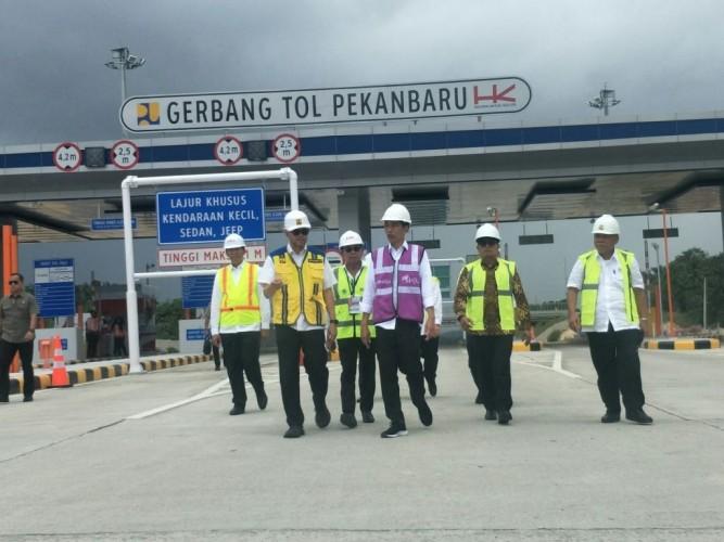 Tol Pekanbaru-Dumai Ditargetkan Rampung April 2020