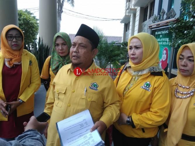 Tolak Pemecatan Alzier FPKPGL Minta Keadilan Ke PN Tanjungkarang